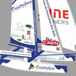 Tour du monde en catamaran de sport : c'est reparti !