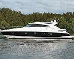 Первая Riviera 5800 Sport Yacht отправилась за границу