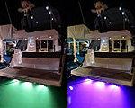 Верфь Sealine предлагает новую опцию - подводную многоцветную подсветку