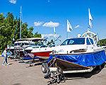 Завершила свою работу шестая ярмарка яхт и катеров «Водный мир - 2015»