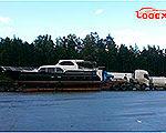 Компания «Лоджекс» доставила стальную моторную яхту «Van der Heijden 1700» из Голландии в Новосибирск.
