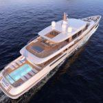Новый концепт мега-яхты Sangi от Royal Huisman